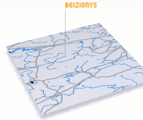3d view of Beižionys