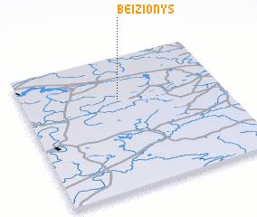 3d view of Beižionys