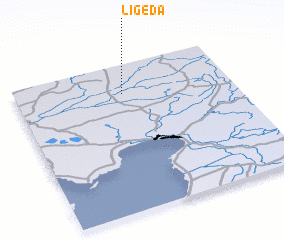 3d view of Ligeda