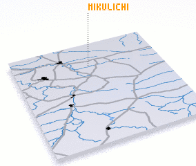 3d view of Mikulichi