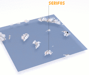 3d view of Sérifos