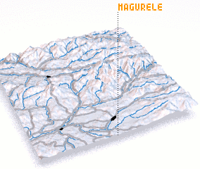 3d view of Măgurele