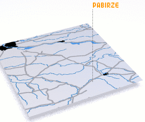 3d view of Pabiržė