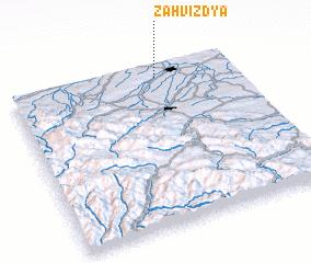 3d view of Zahvizdya