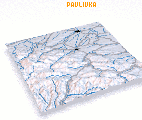 3d view of Pavlivka