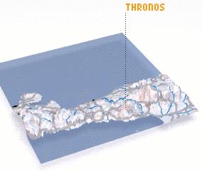 3d view of Thrónos