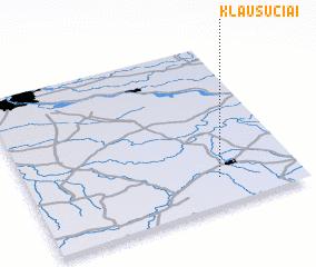 3d view of Klausučiai