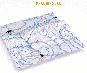 3d view of Valea Iaşului
