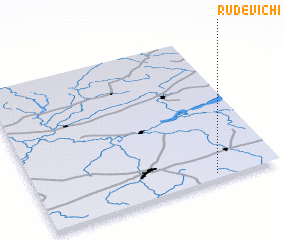 3d view of Rudevichi