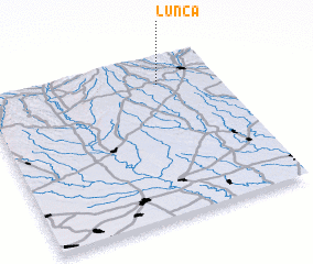 3d view of Lunca