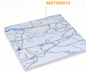 3d view of Mantinionys