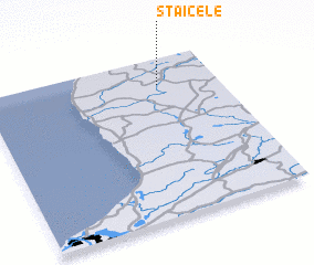 3d view of Staicele