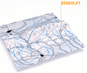 3d view of Brăduleţ