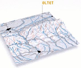 3d view of Olteţ
