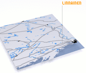 3d view of Linnainen