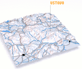 3d view of Ustovo