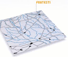 3d view of Frăteşti