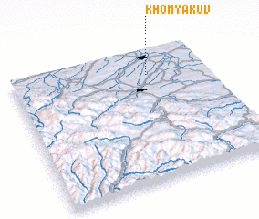 3d view of Khomyakuv