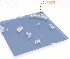 3d view of Vourkotí