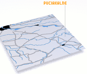 3d view of Pučiakalnė