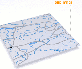 3d view of Purvėnai
