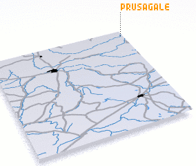 3d view of Prūsagalė