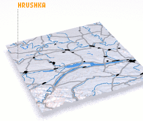 3d view of Hrushka