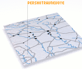 3d view of Pershotravnevoye