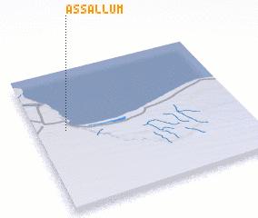 3d view of As Sallūm