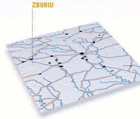 3d view of Zboriv