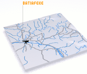 3d view of Batiafeke