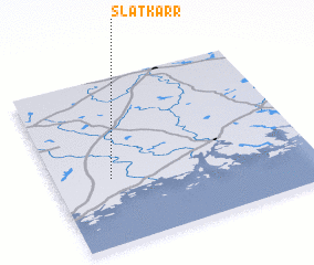 3d view of Slätkärr