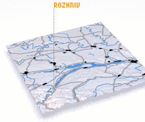 3d view of Rozhniv