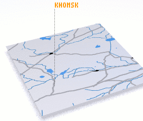 3d view of Khomsk