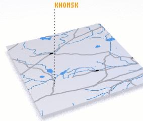 3d view of Khomsk