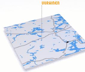3d view of Uurainen