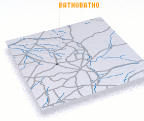 3d view of Bathobatho
