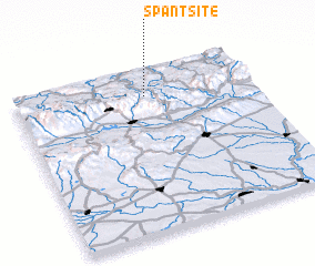 3d view of Spantsite
