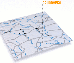 3d view of Romanovka