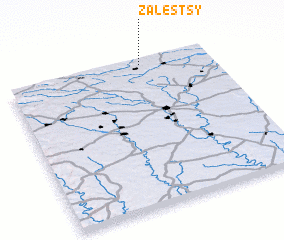 3d view of Zalestsy