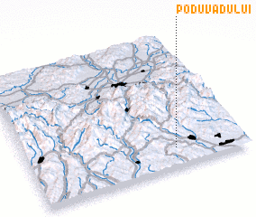 3d view of Podu Vadului