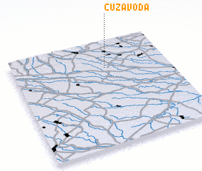 3d view of Cuza Vodă