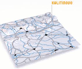 3d view of Kalitinovo