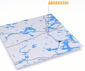 3d view of Äänekoski