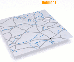 3d view of Manwane
