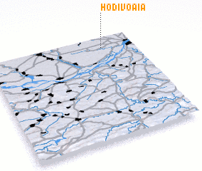 3d view of Hodivoaia