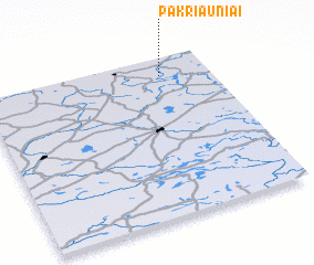 3d view of Pakriauniai