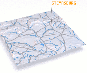 3d view of Steynsburg