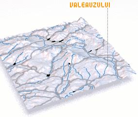 3d view of Valea Uzului