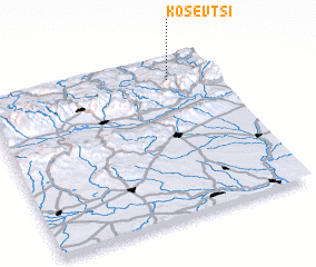 3d view of Kosevtsi